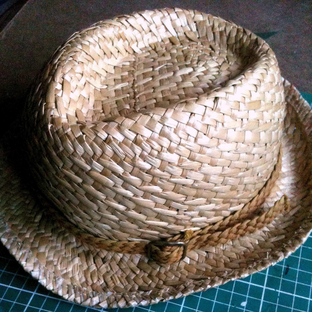 chapeau de paille ceinture