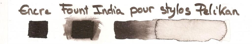 encre Fount India pour stylos Pelikan