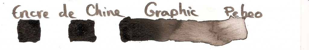 encre de Chine Graphic Pebeo