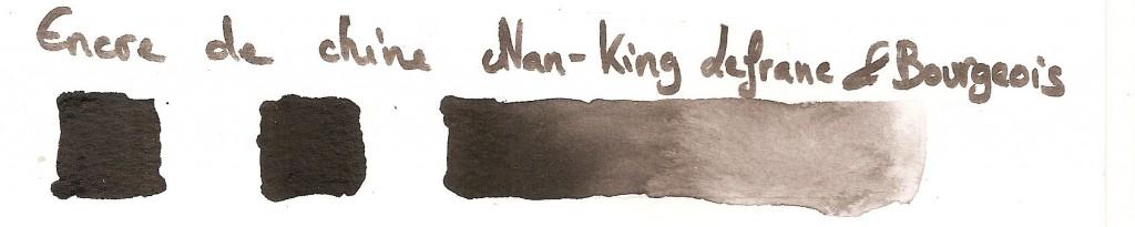 encre de Chine Nan-King Lefranc & Bourgeois
