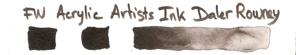 FW Acrylic Artist Ink Daler Rowney
