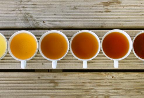 Toutes les couleurs du thé