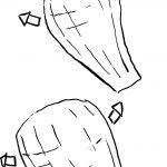 fleurs en papier crepon: étirer pétale