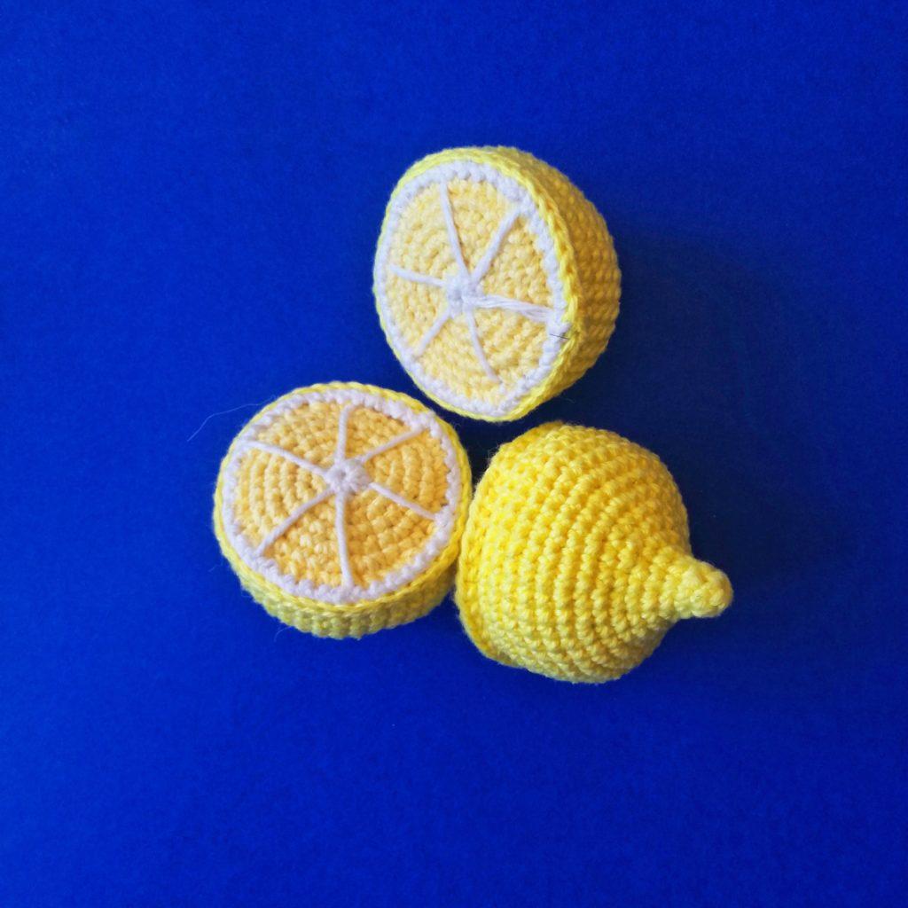 patron de citron au crochet